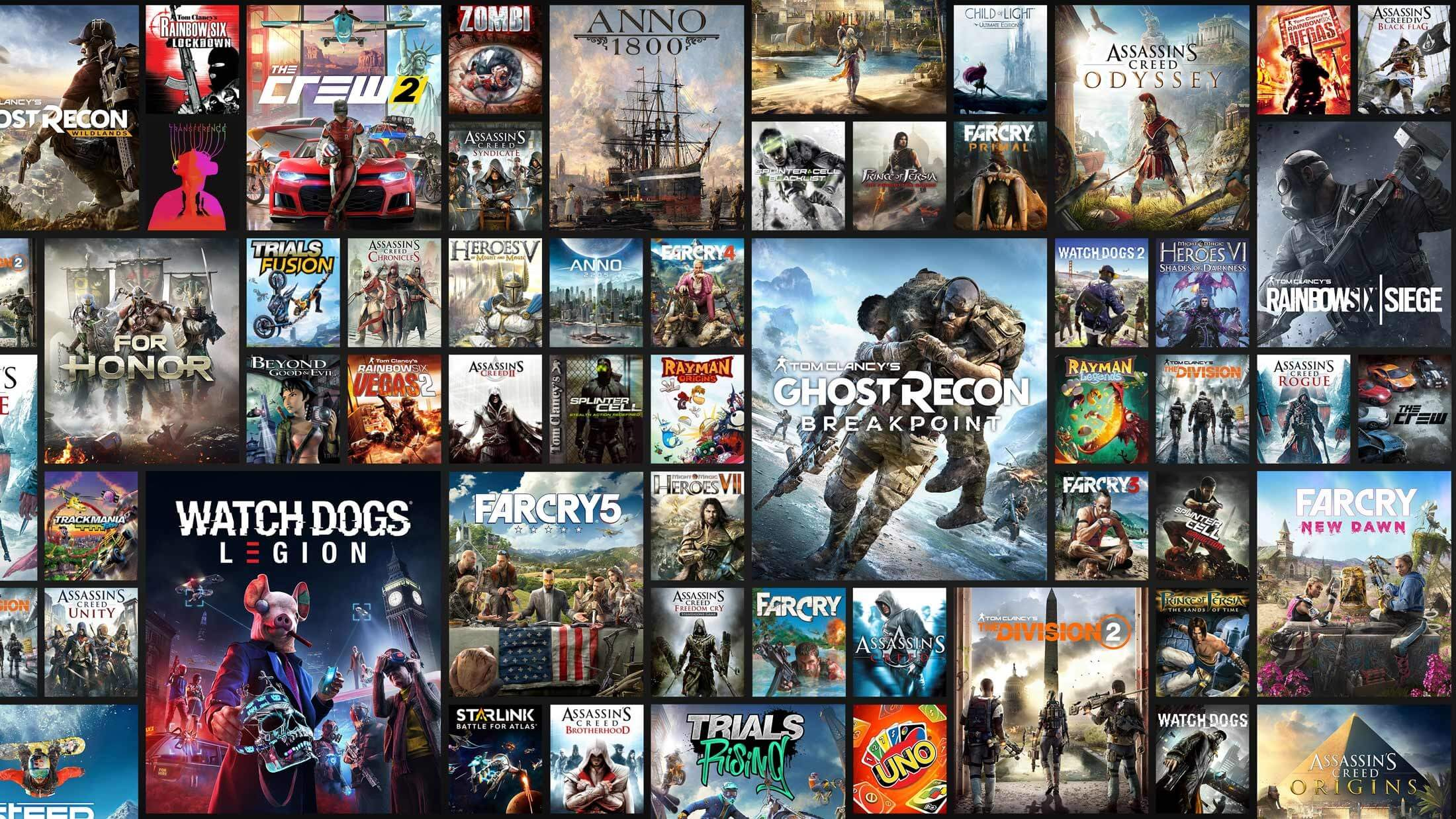 Ubisoft reveals the 108 games available to Uplay+ subscribers