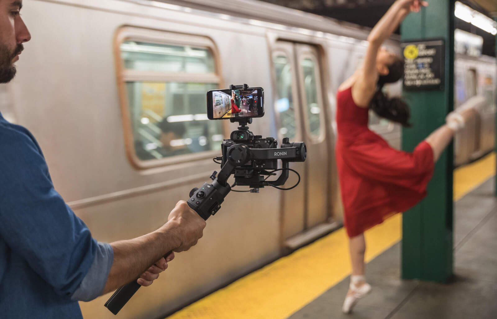 DJI's new Ronin-SC gimbal for mirrorless cameras sheds the weight