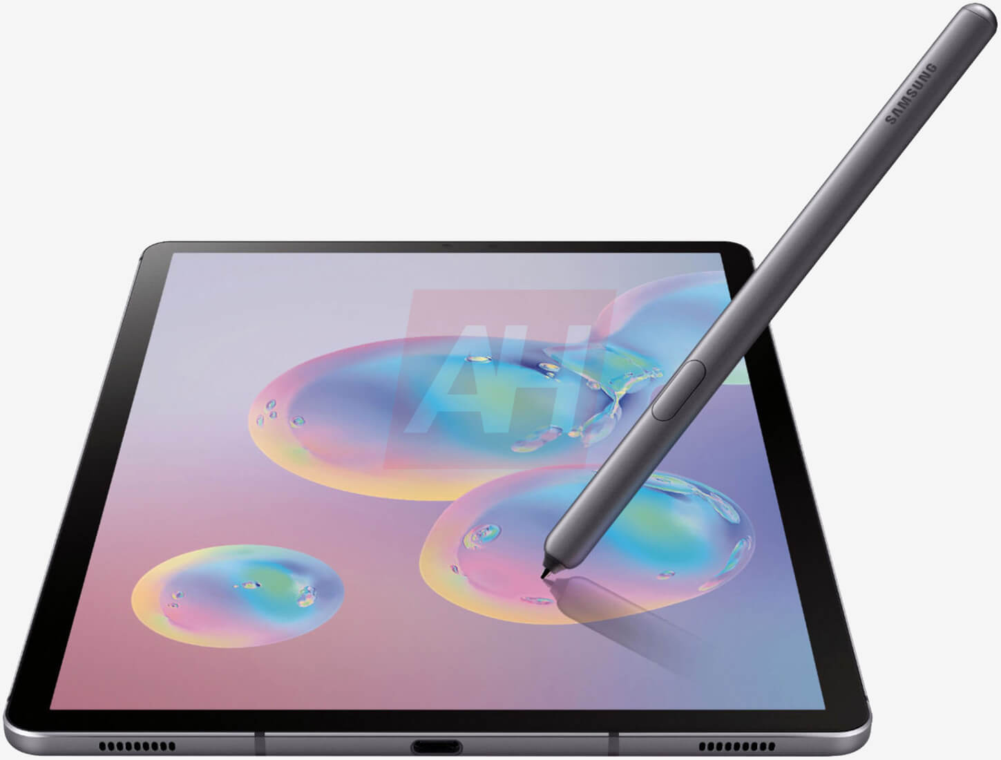 Samsung's Galaxy Tab S6 spied in leaked renders, rear-mounted S Pen confirmed