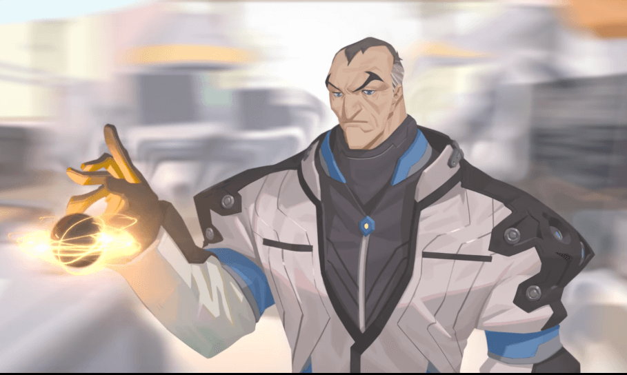 The latest Overwatch hero is the gravity bending scientist, Sigma