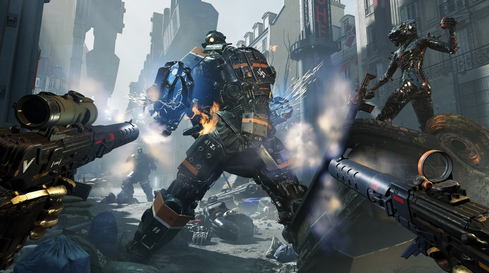 Wolfenstein: Youngblood arrives a day early for PC players