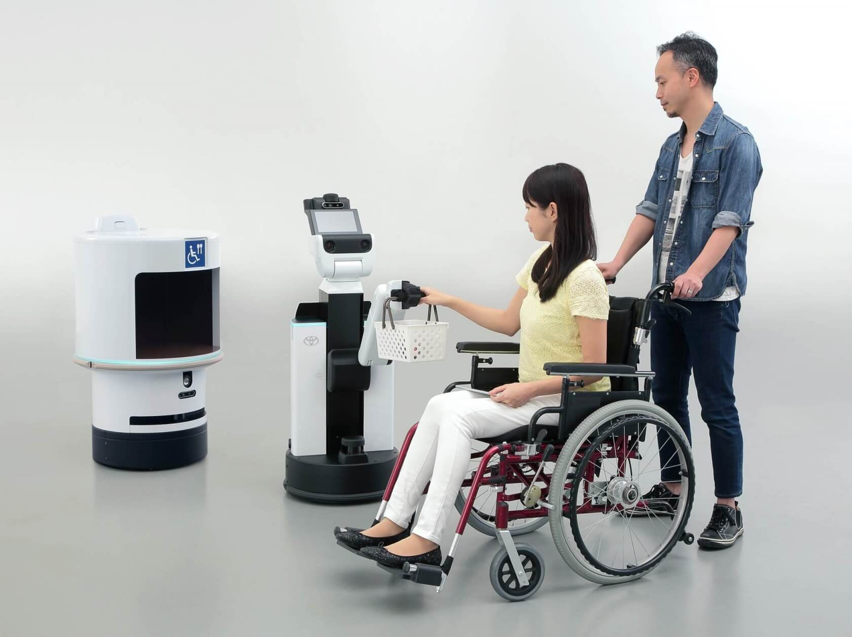 Toyota's 2020 Olympics robot line-up includes javelin-carrying carts, refreshment delivery bots, and more