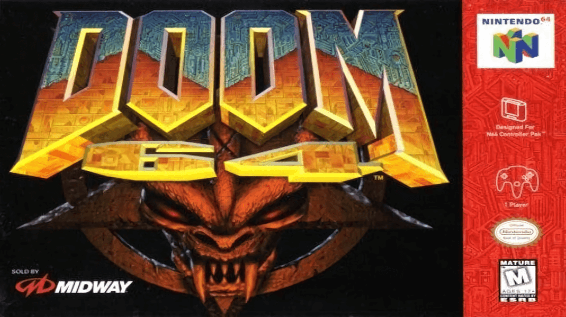 PEGI listing suggests Doom 64 is coming to PlayStation 4 and PC