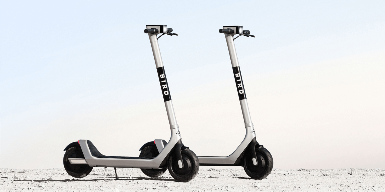 Bird's new e-scooter affords more battery life, puncture-proof tires, self-reporting damage sensors and more