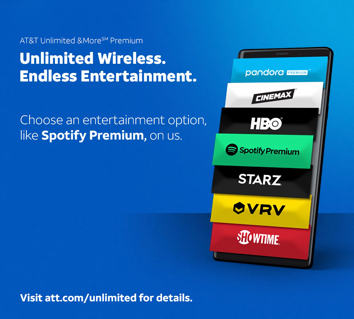 AT&T wireless subscribers can get Spotify Premium free of