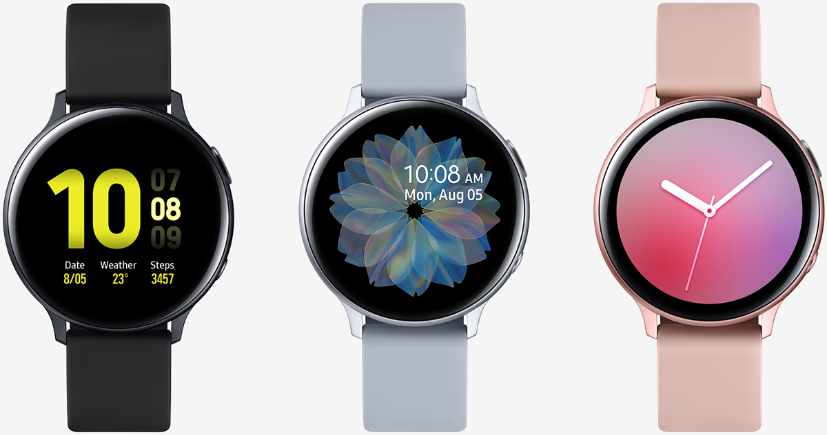 Samsung formally introduces Galaxy Watch Active 2 with touch-sensitive bezel