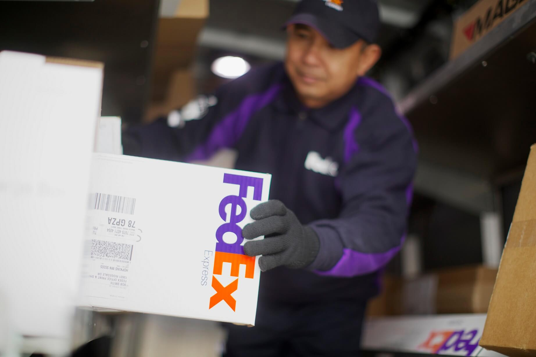 FedEx is ending ground shipping deal with Amazon this month