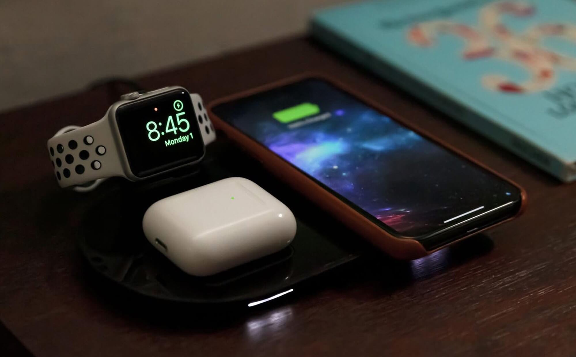 Mophie's unveiled an AirPower knock-off that Apple is selling - TechSpot