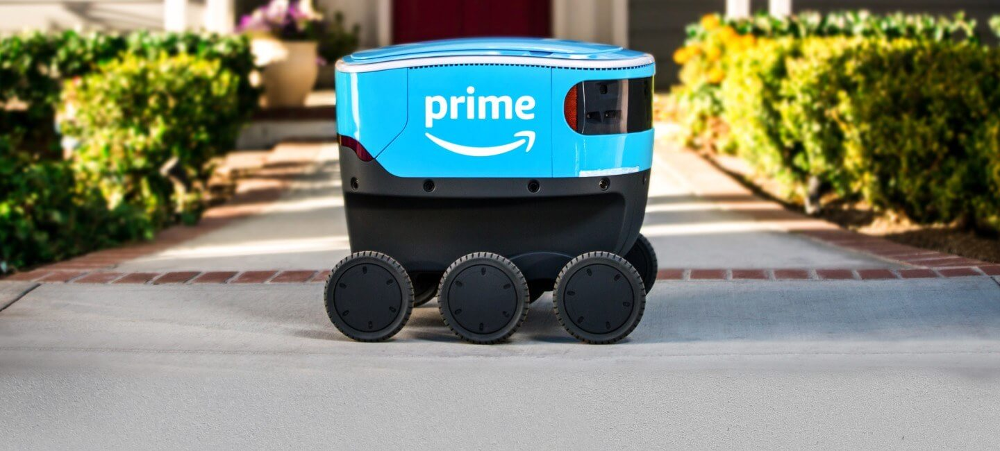 Amazon begins testing its 'Scout' delivery robot in Southern