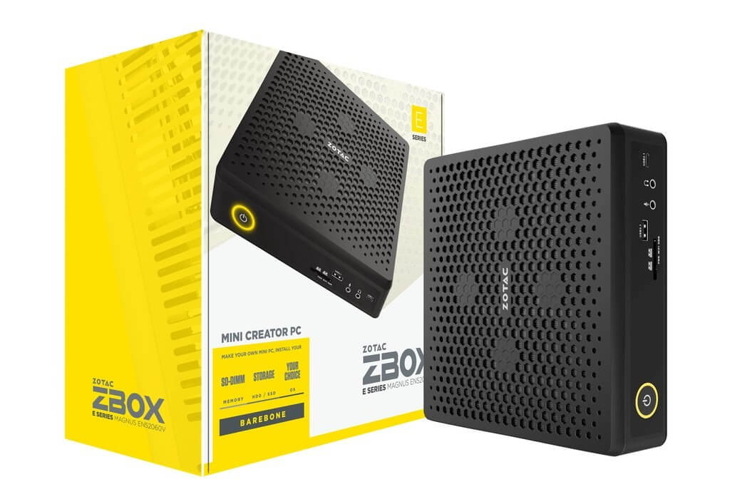 Zotac's new PC line packs some meaty hardware into a tiny case