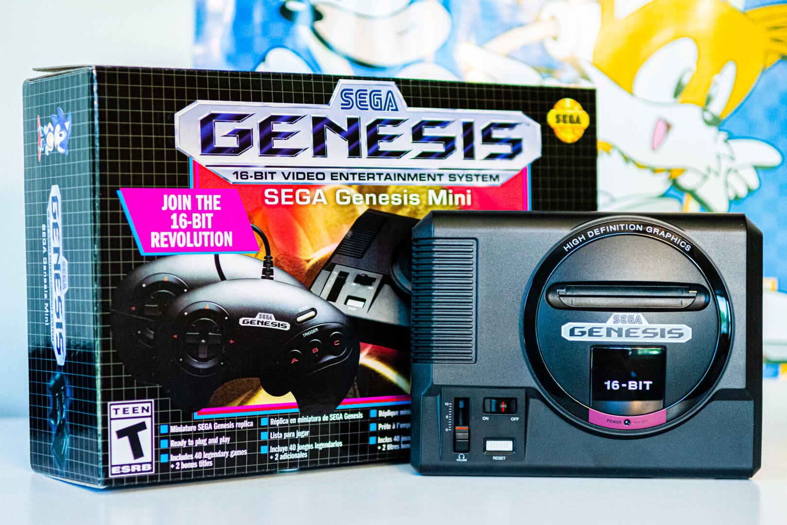 Sega's Genesis Mini is ready to restore your faith in classic consoles