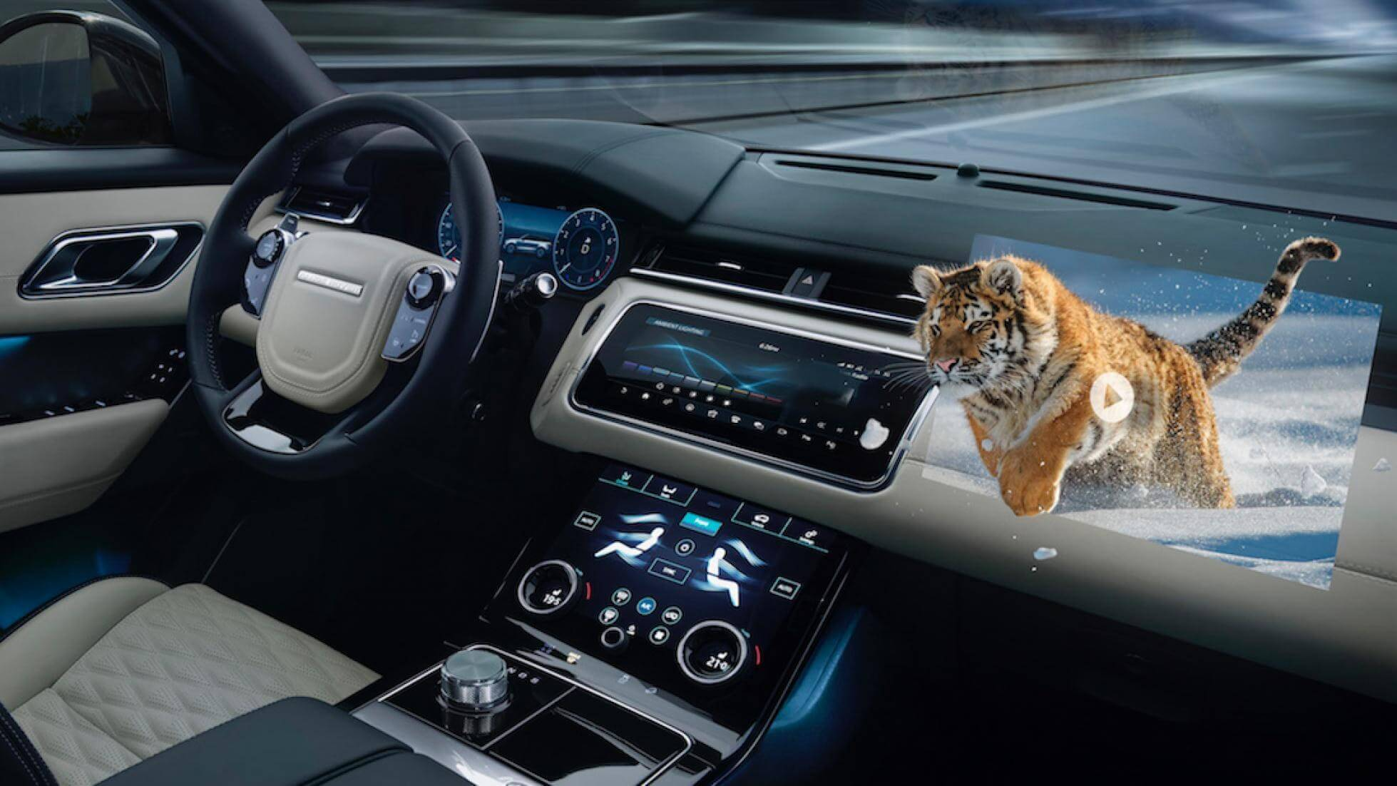 Jaguar Land Rover developing 3D in-car technology