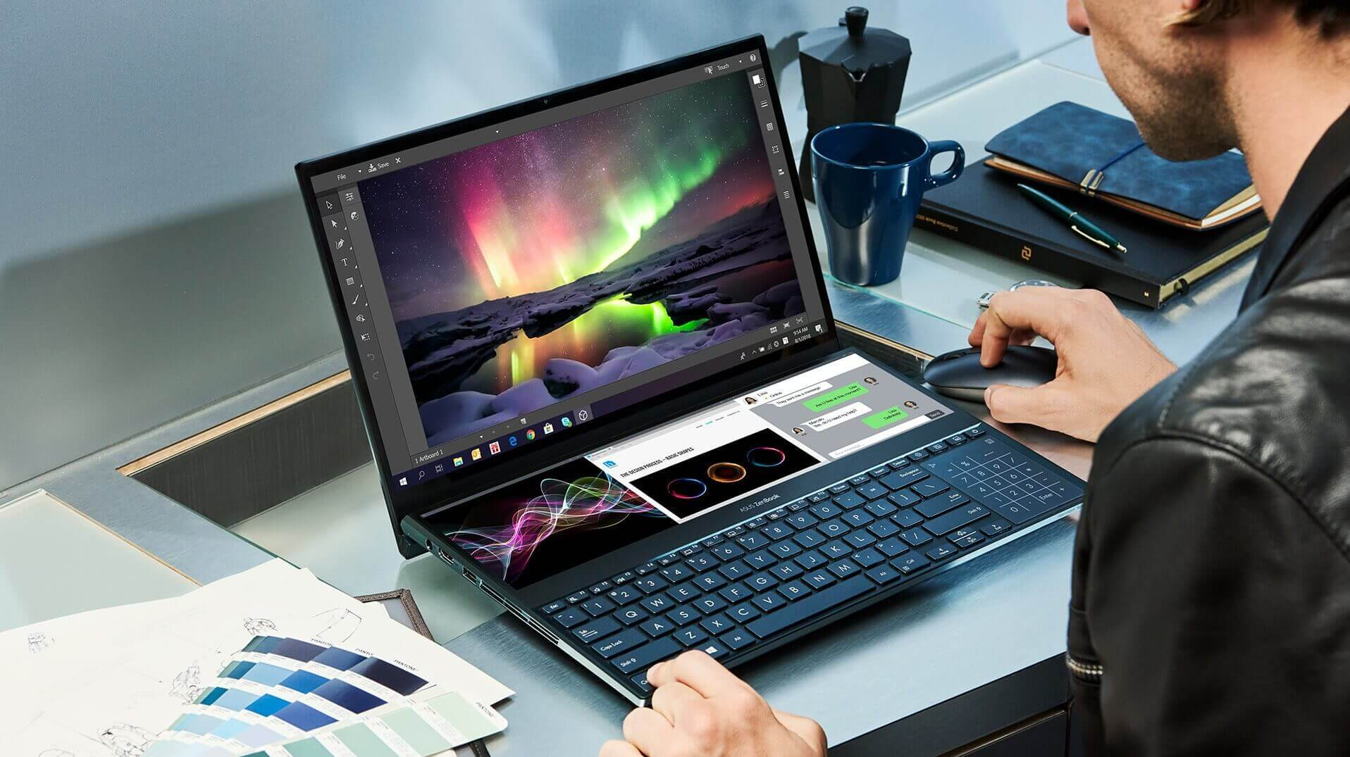 Asus launches ZenBook Pro Duo starting at $2,499.99