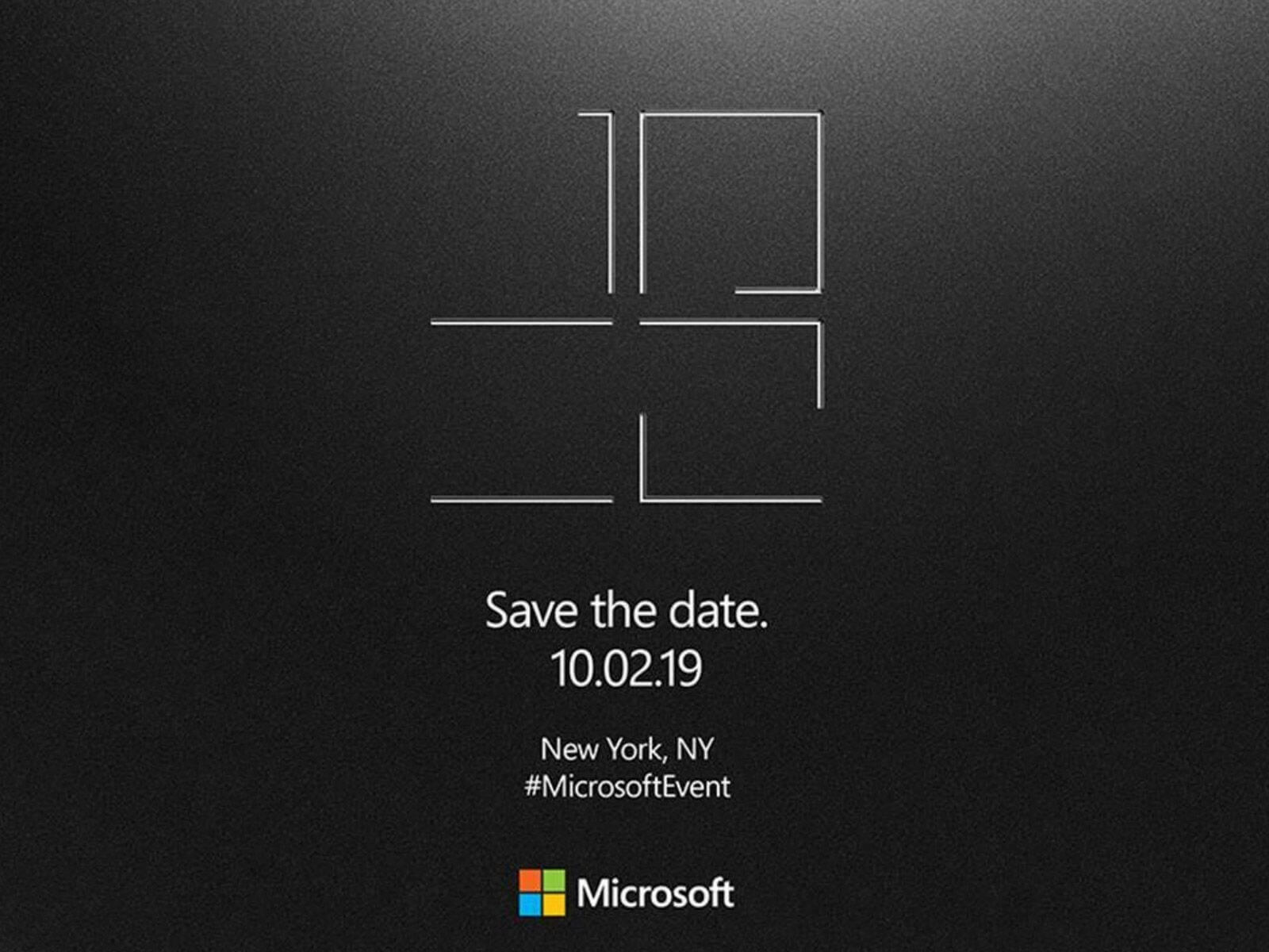 Microsoft is sending out invitations to a mysterious Surface