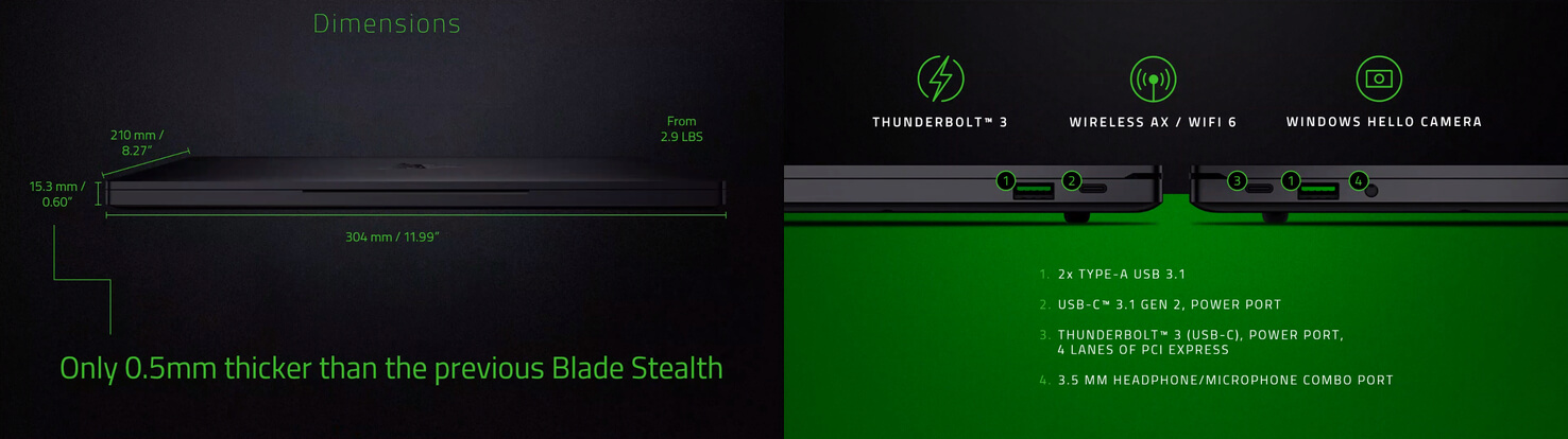 Razer refreshes the Blade Stealth 13 for 2019 - TechSpot