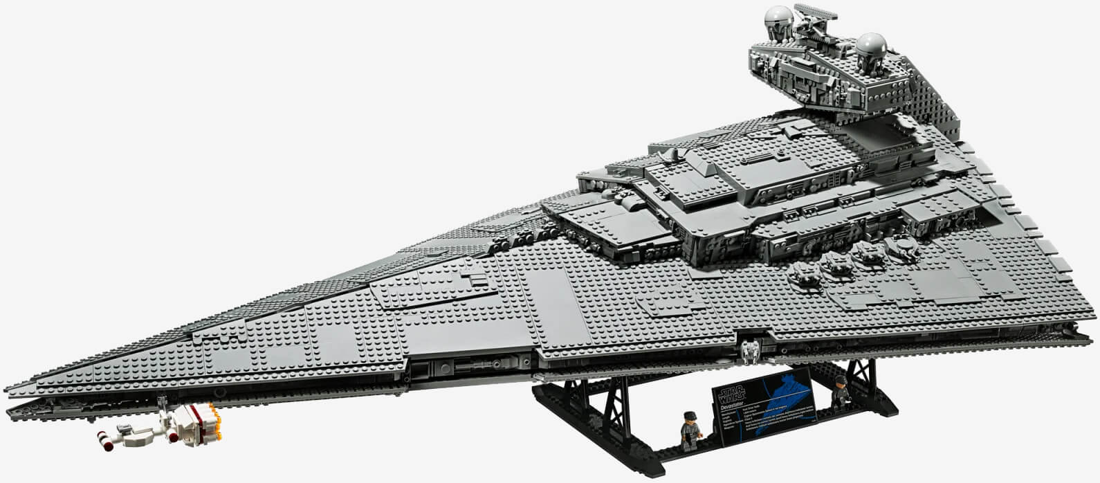 Lego's massive Imperial Star Destroyer arrives in October with 4,700 pieces