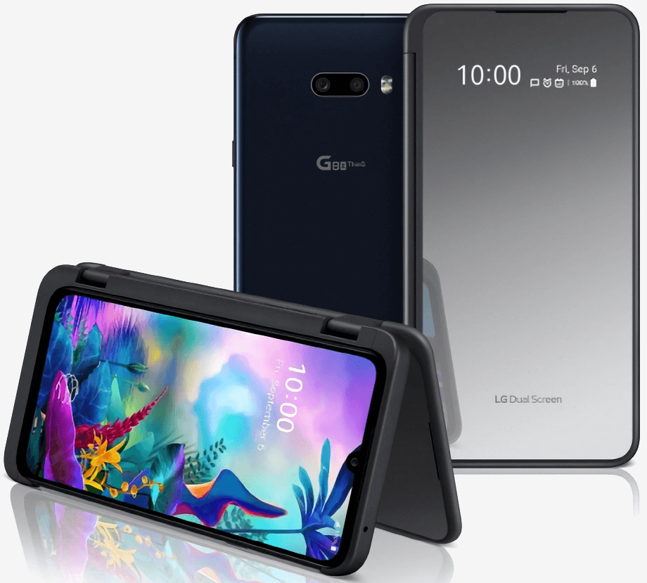 LG's G8X ThinQ offers a dual screen experience without