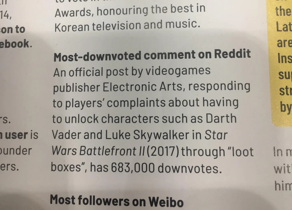 EA now holds a world record for the 'most-downvoted comment