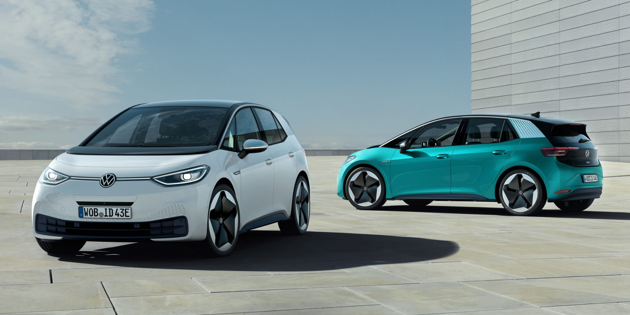 Volkswagen reveals the all-electric ID.3 hatchback that'll do up to 340 miles on European roads