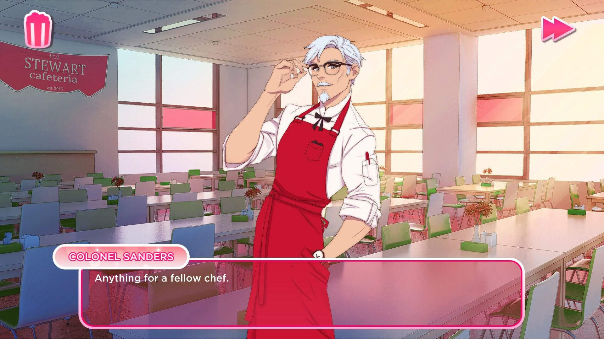 KFC is making a wacky and slightly creepy dating simulator