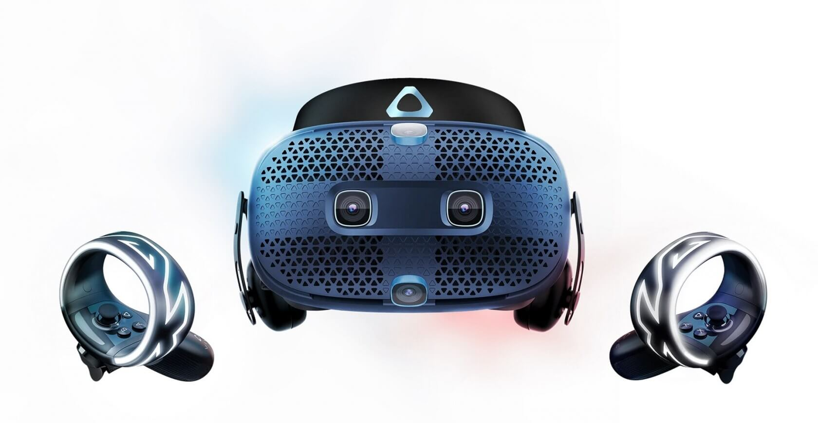 HTC's Vive Cosmos VR headset features built in headphones, inside-out tracking, and a modular design for $699