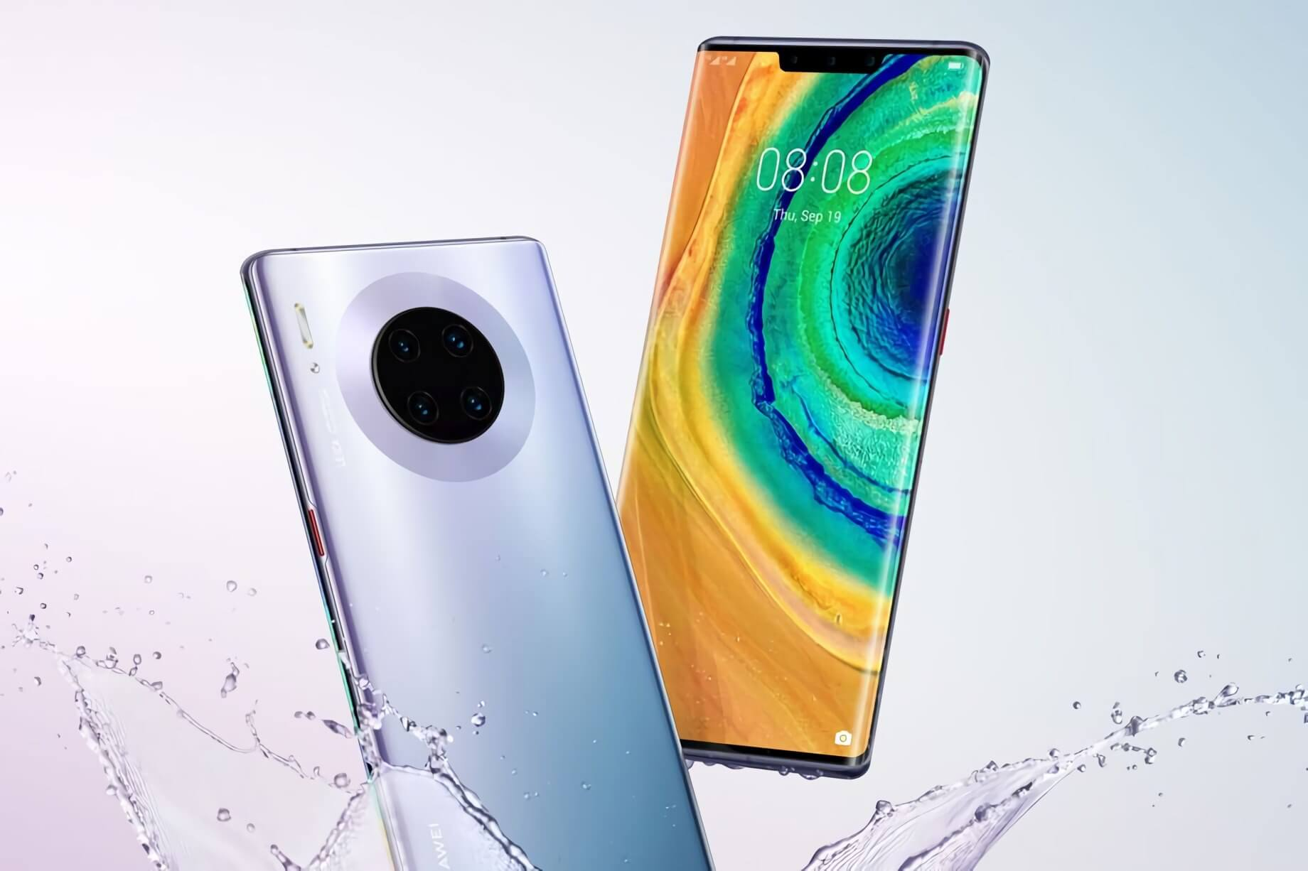 Leaked images of Huawei's Mate 30 indicate four versions are coming