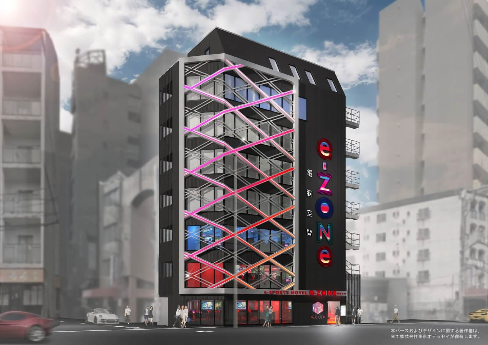 Esports-themed hotel in Osaka to feature over 70 high-spec gaming PCs