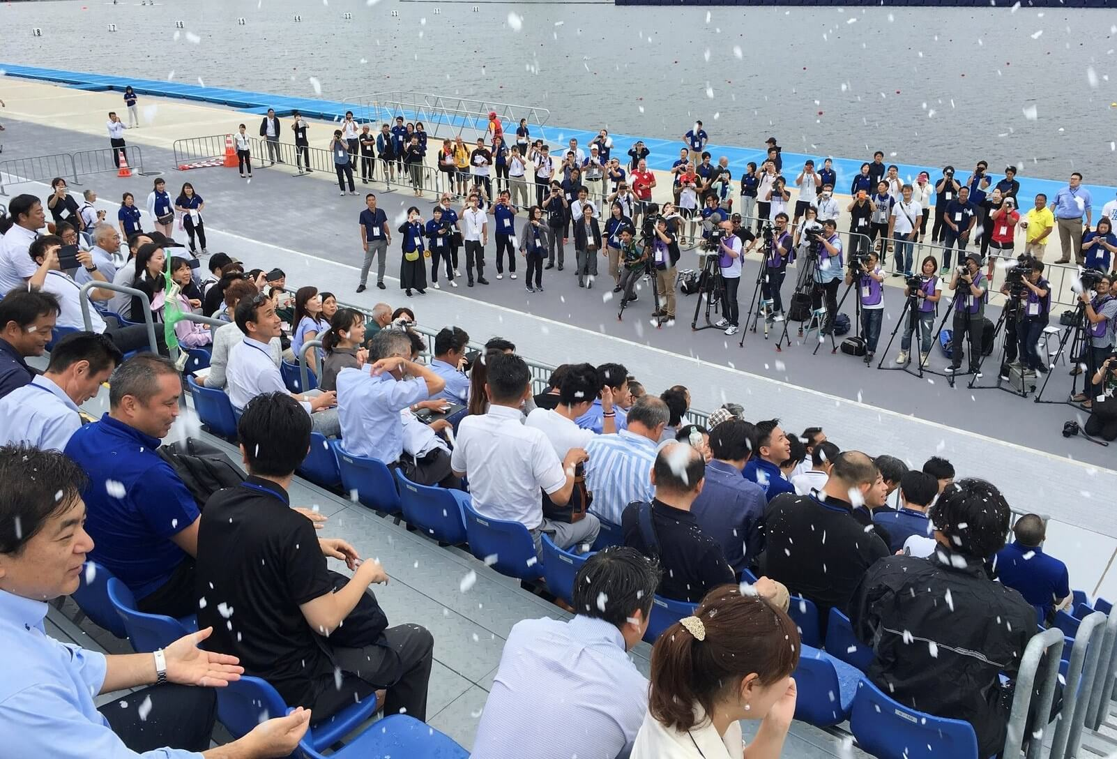Tokyo Olympic games organizers could use fake snow to keep crowds cool