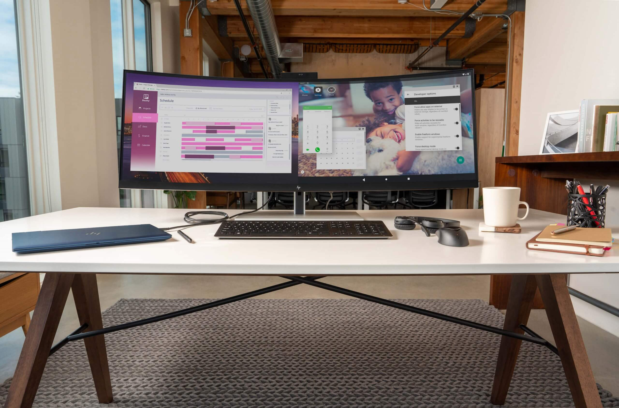 HP's new 43.4-inch ultrawide monitor can replace your dual-display setup