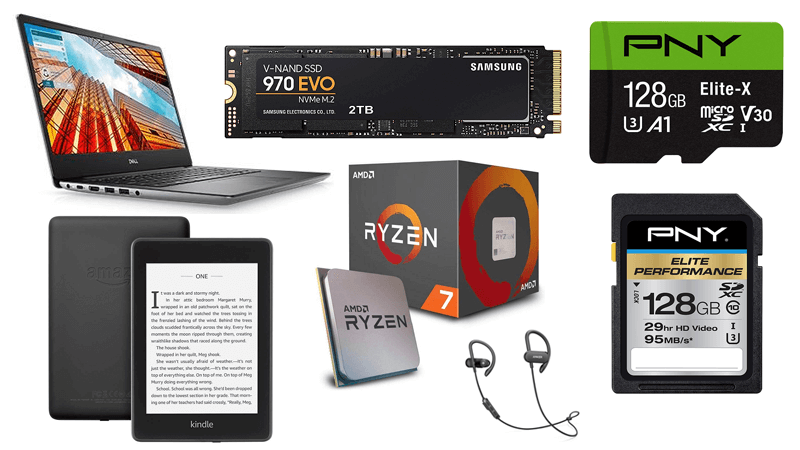 Samsung 970 Evo 2TB is $200 off today, Dell's Vostro 14 $450 off and Ryzen 7 2700X down to just $199