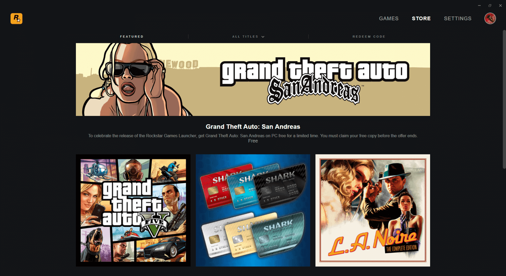 Rockstar joins the PC gaming platform wars with the 'Rockstar Games Launcher'