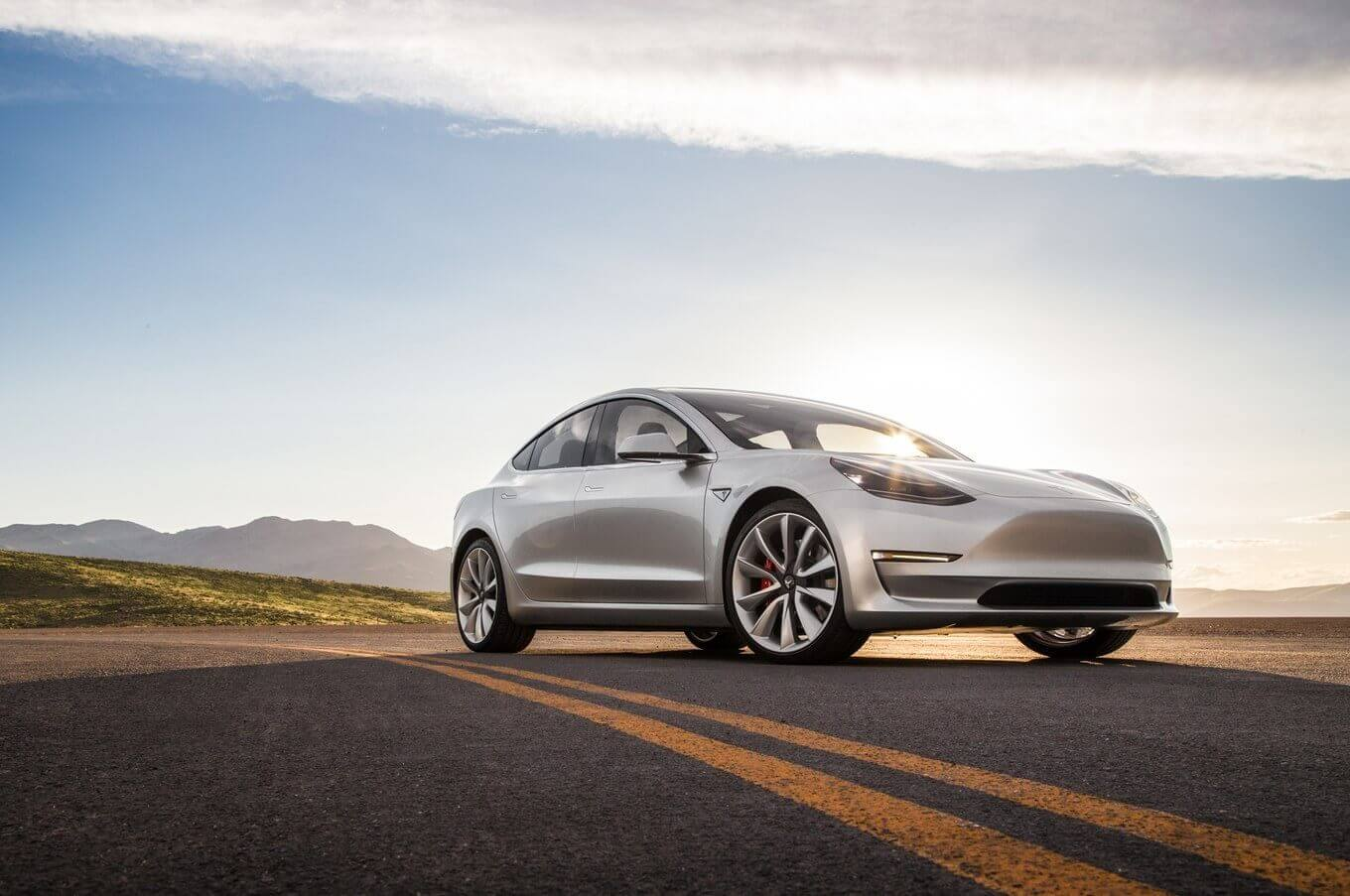 Tesla Model 3 picks top safety award from IIHS