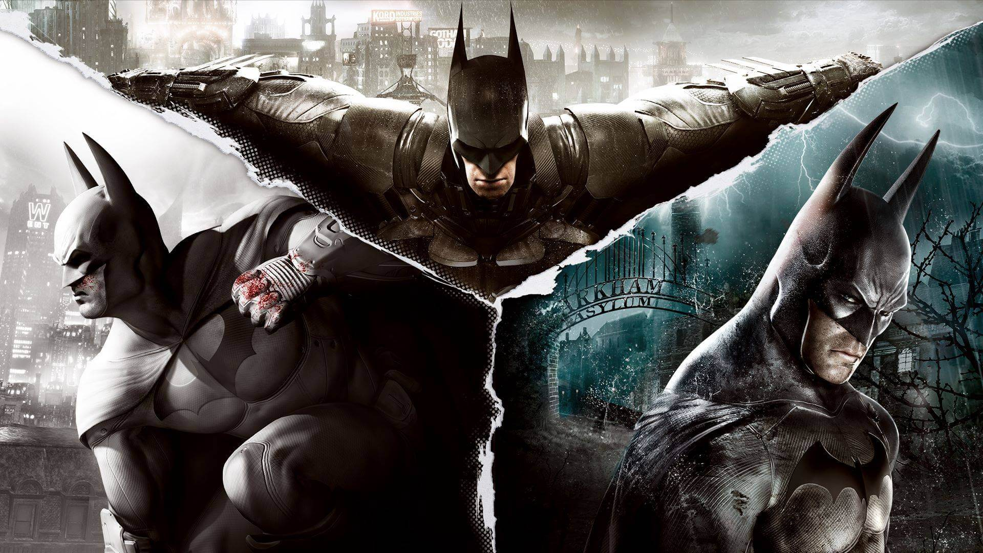 Batman Arkham Collection and Lego Trilogy now  free on Epic Games Store