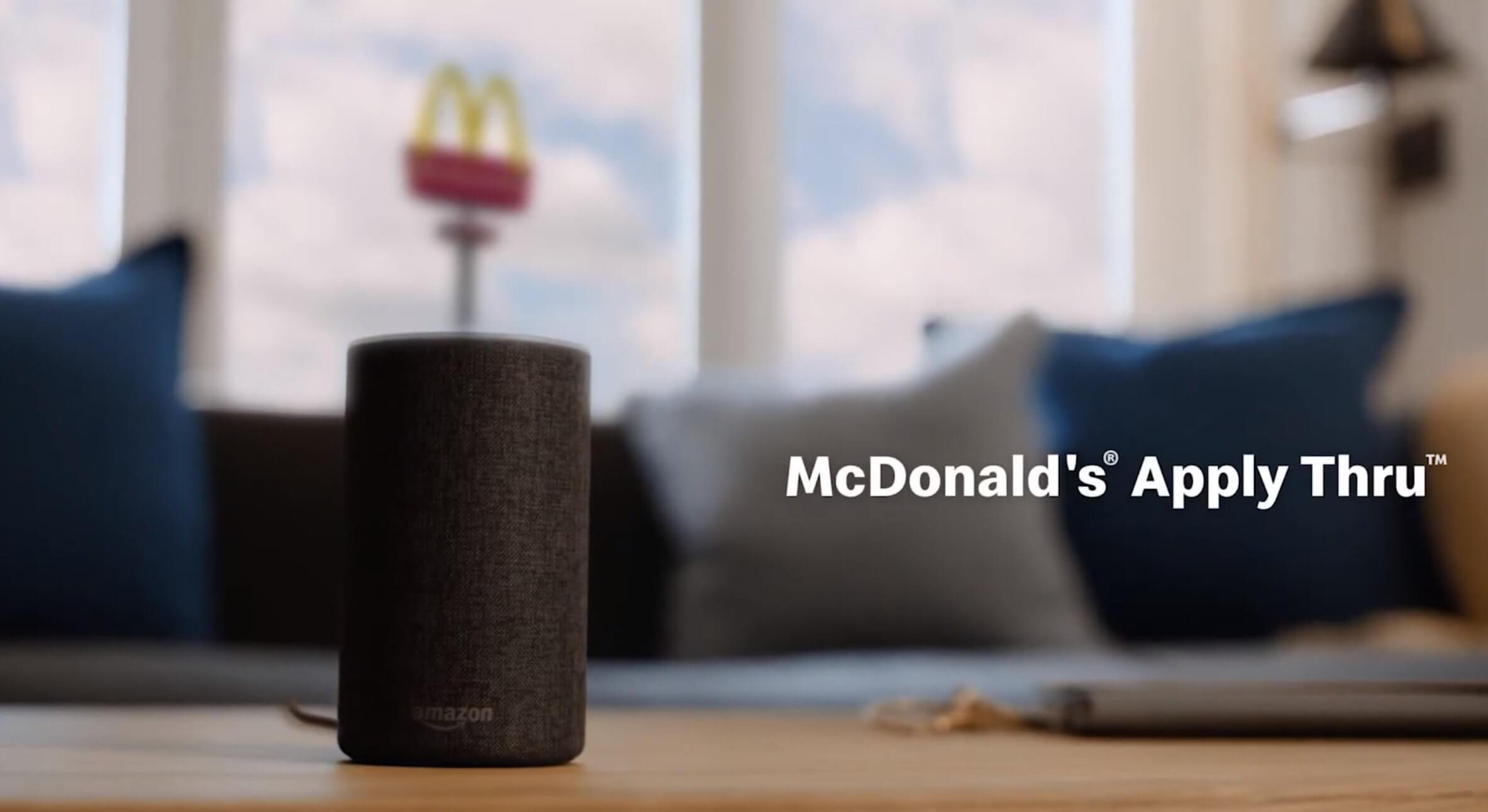 You can now apply for a job at McDonald's using Alexa and Google Assistant