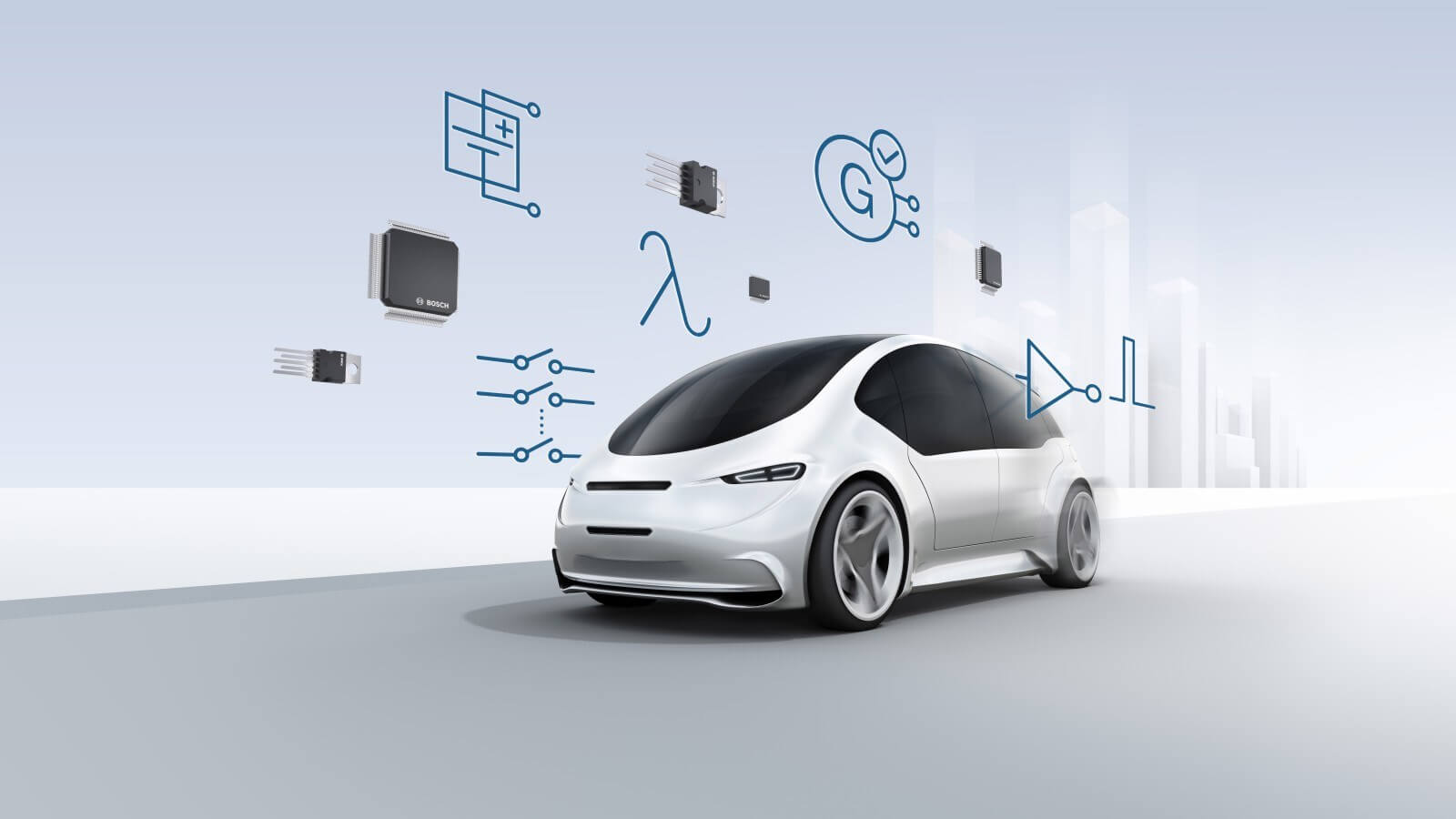 Bosch's microchips can set off mini explosions in EVs mid-crash to prevent electrical leaks and fires