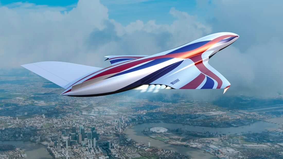 UK and Australia space agencies are developing a hypersonic 'space plane'