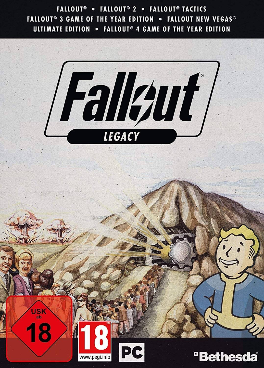 A 'Fallout Legacy Collection' bundle containing all of the series' single-player games could arrive this month