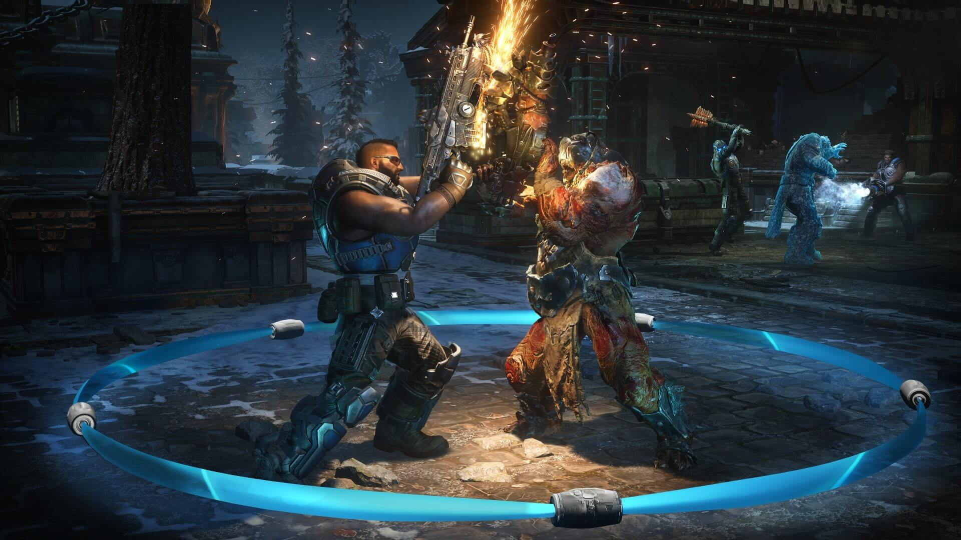 Gears 5 quitters are getting banned for 640 days