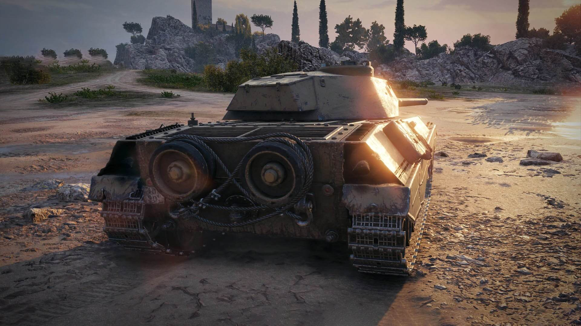 World of Tanks enCore RT demo allows ray tracing on non-RTX graphics cards