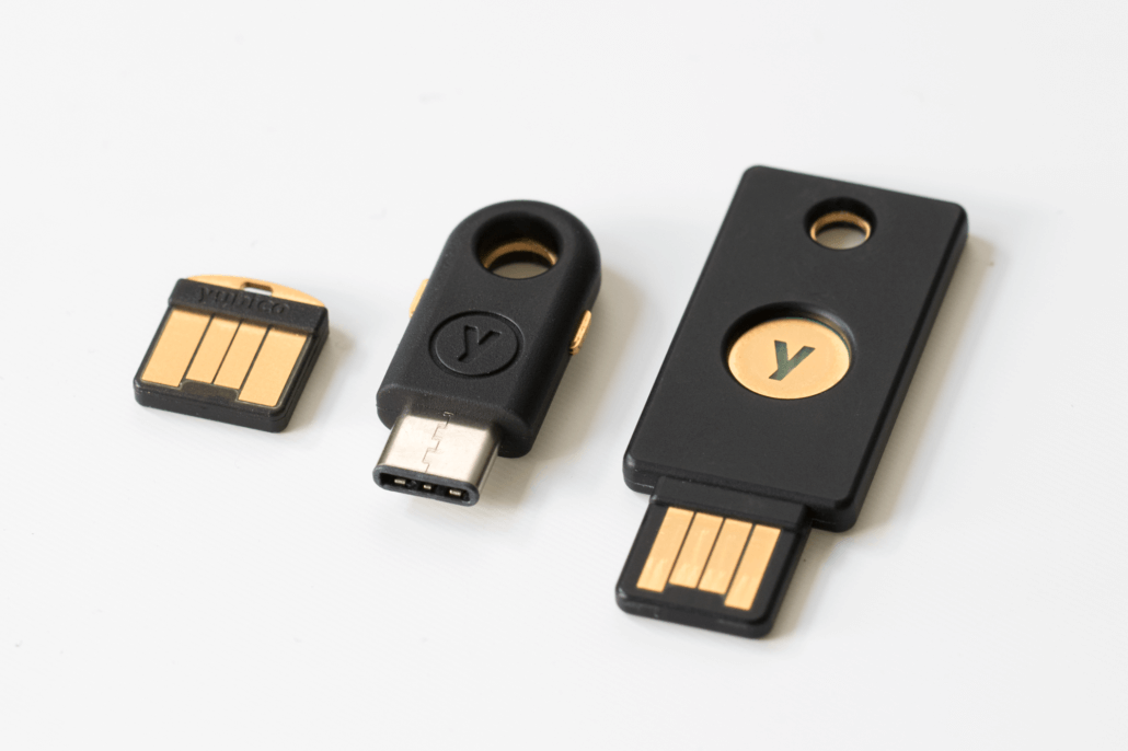 YubiKey can now be used to log into Windows PCs