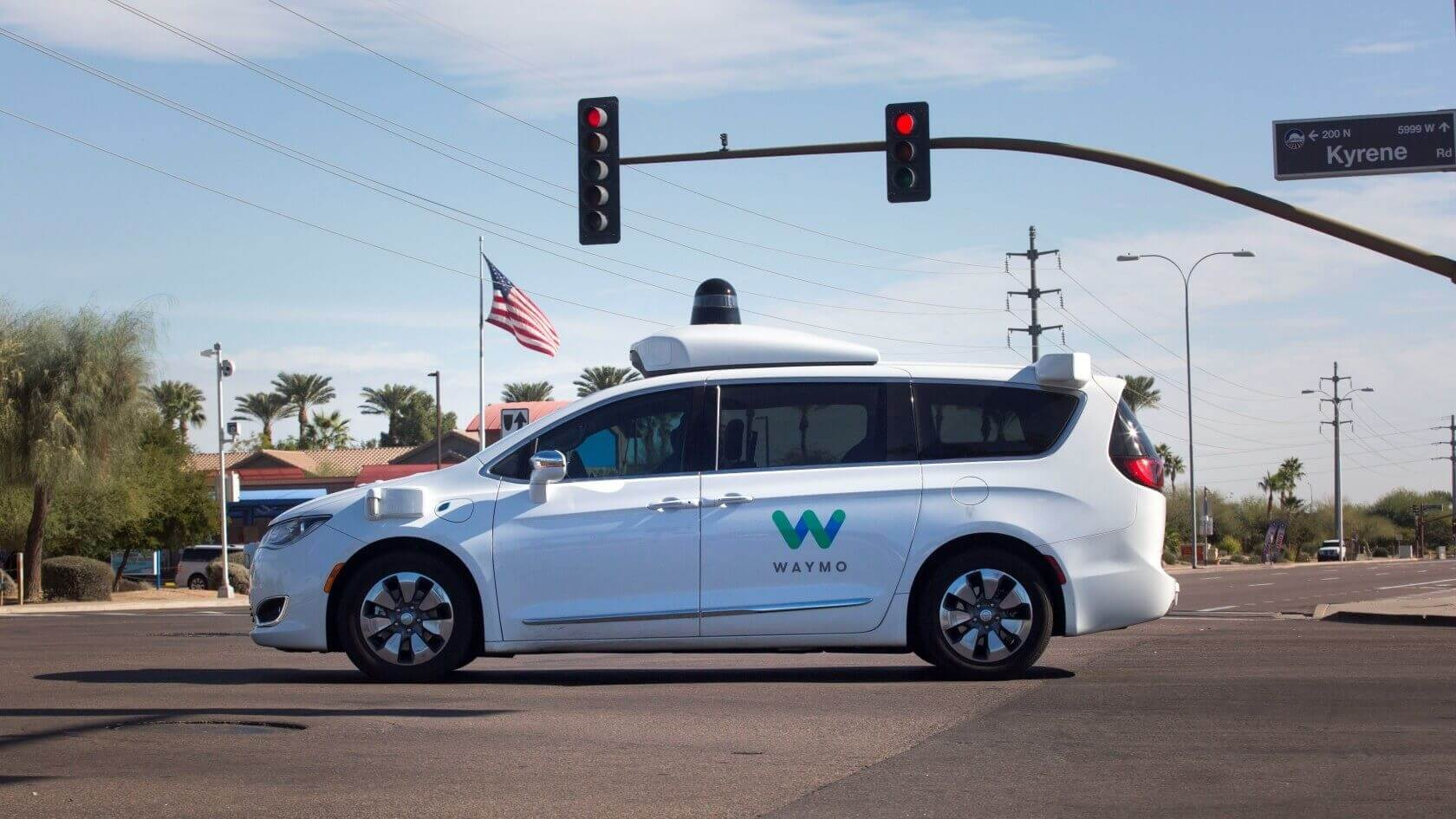 Waymo's autonomous cars are now picking up Phoenix riders without a safety driver