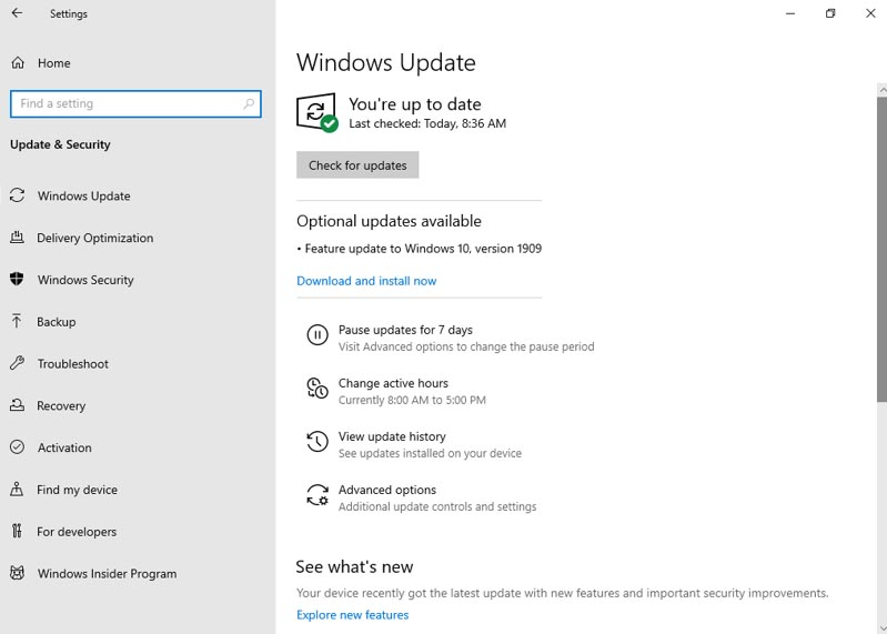 How to install Microsoft's Windows 10 November 2019 Update