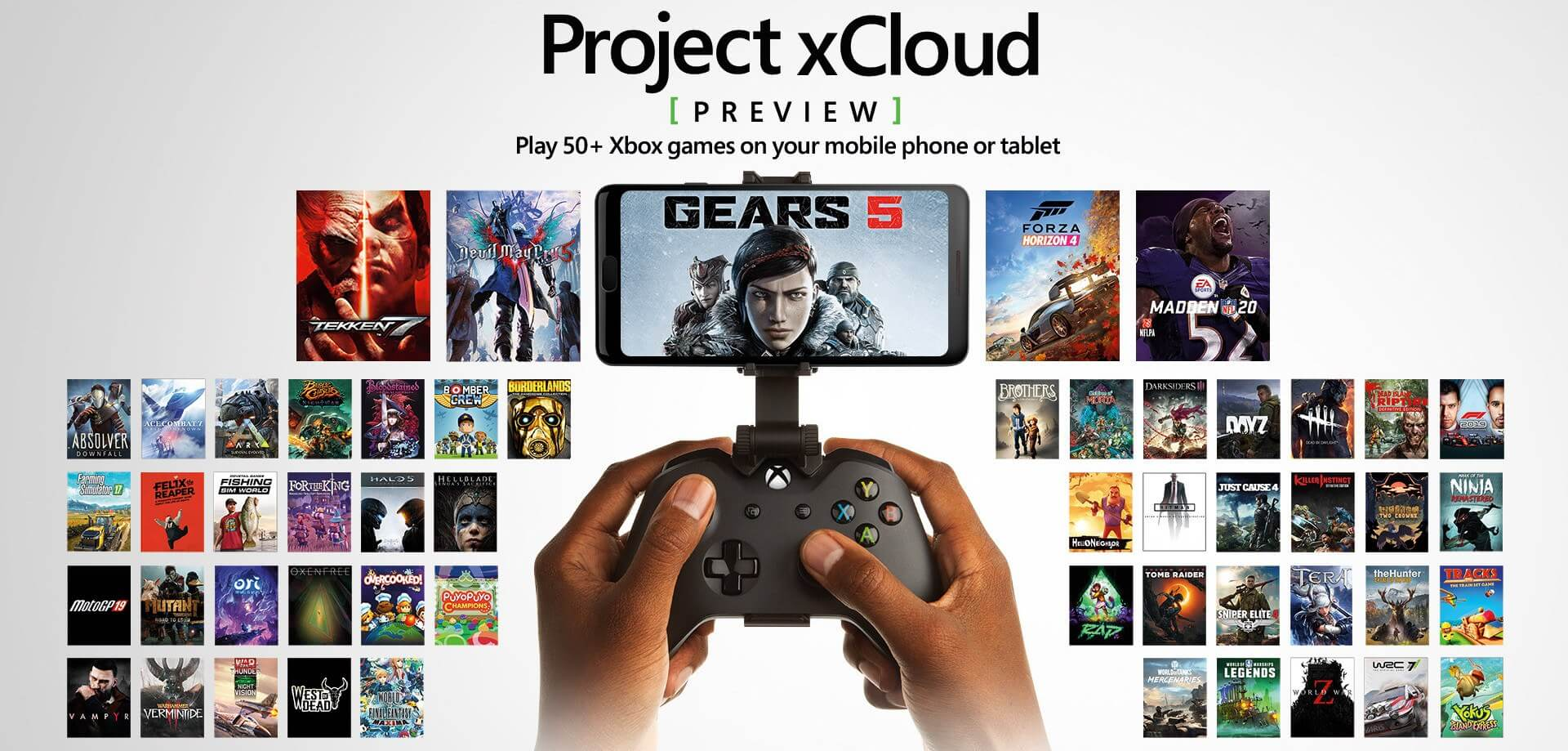 2020 Games.Microsoft Xcloud Preview Adds 50 Games And Shoots For A 2020