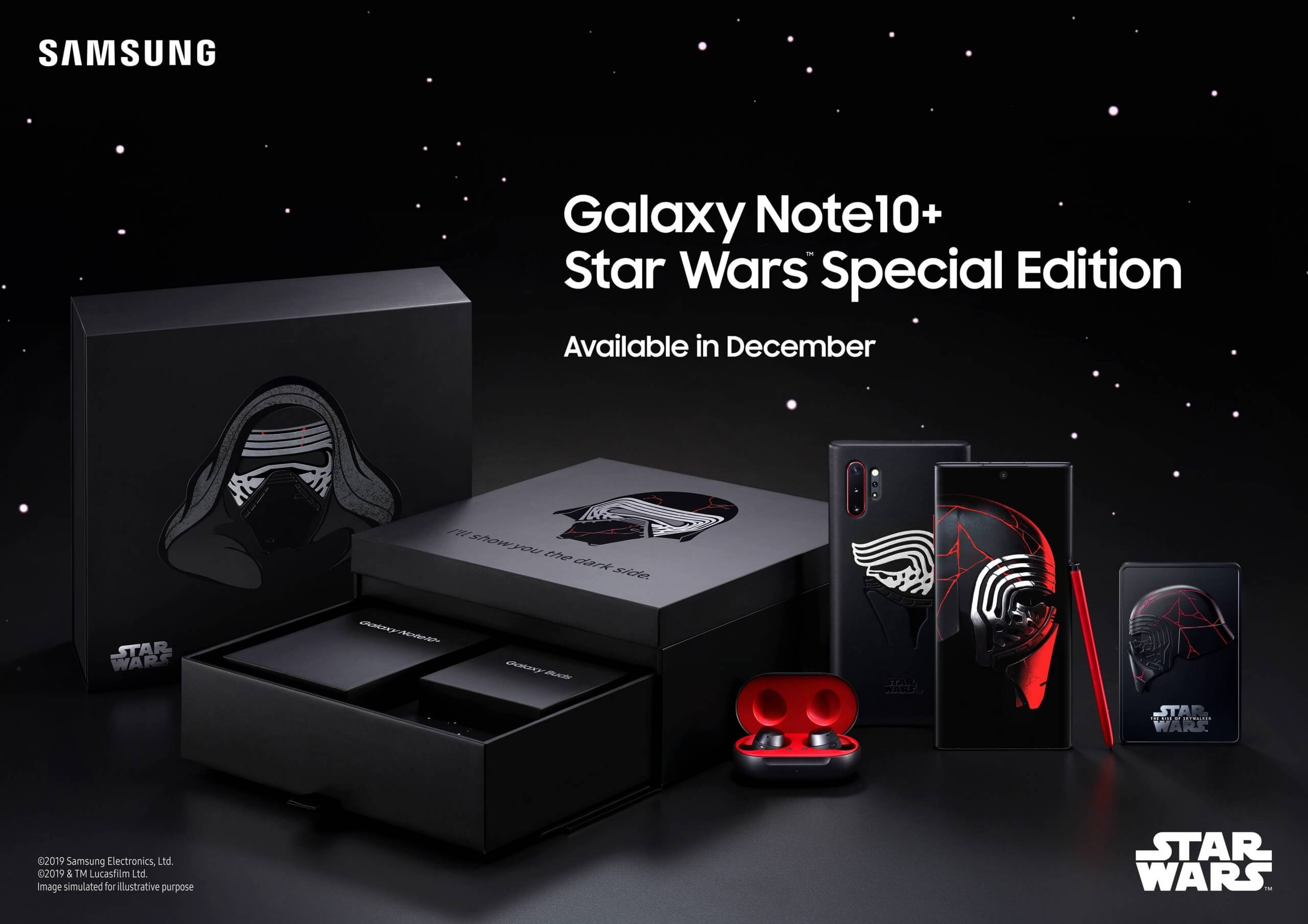 Samsung has a 'Dark Side' Galaxy Note 10 Plus bundle coming next month