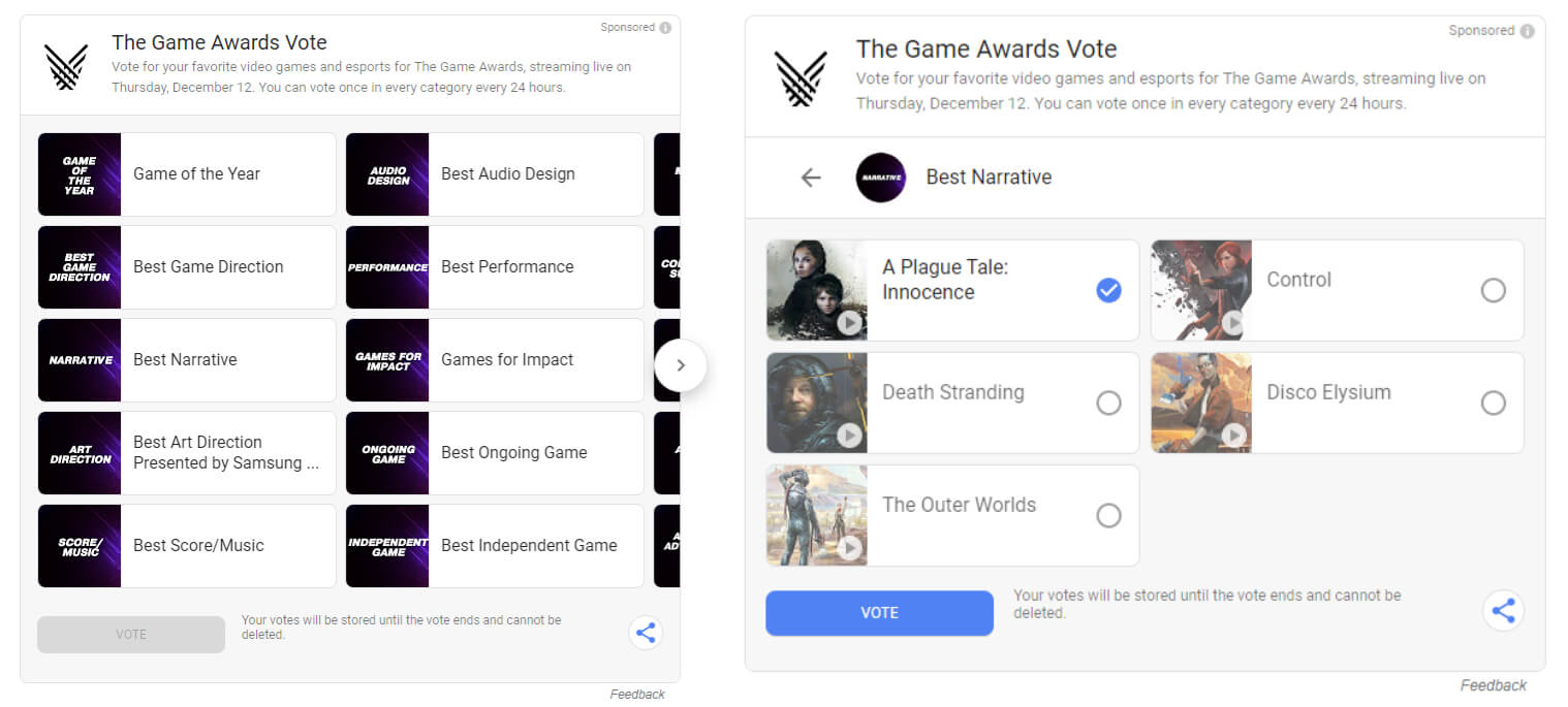 Death Stranding leads the pack for 2019's Game Awards nominations