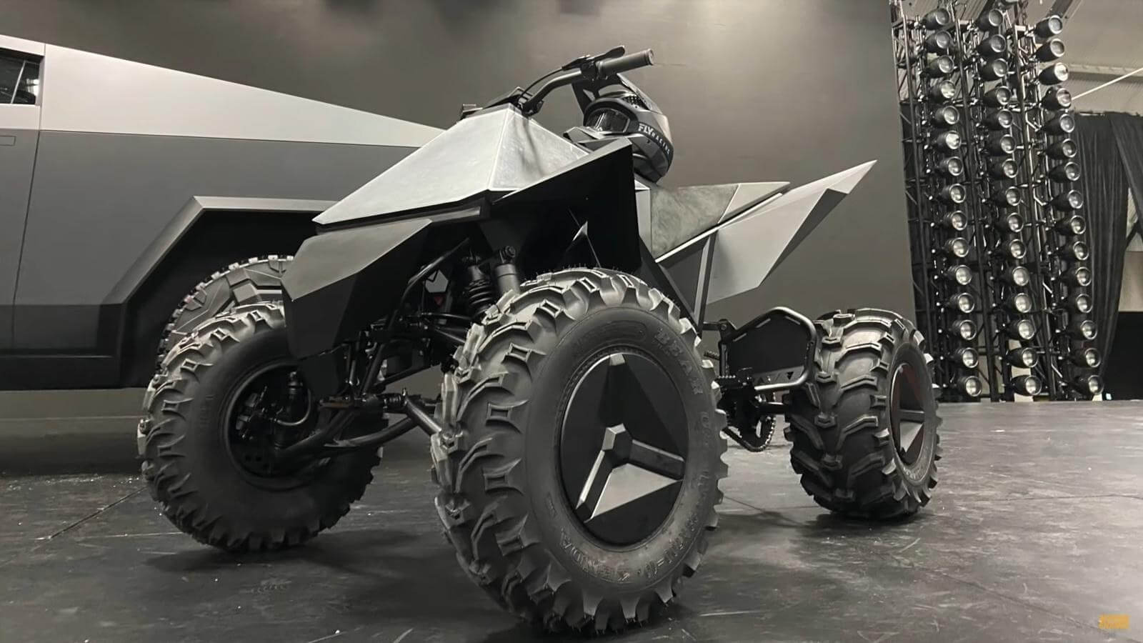 Tesla's 'Cyberquad' ATV will ship as an add-on for the ...