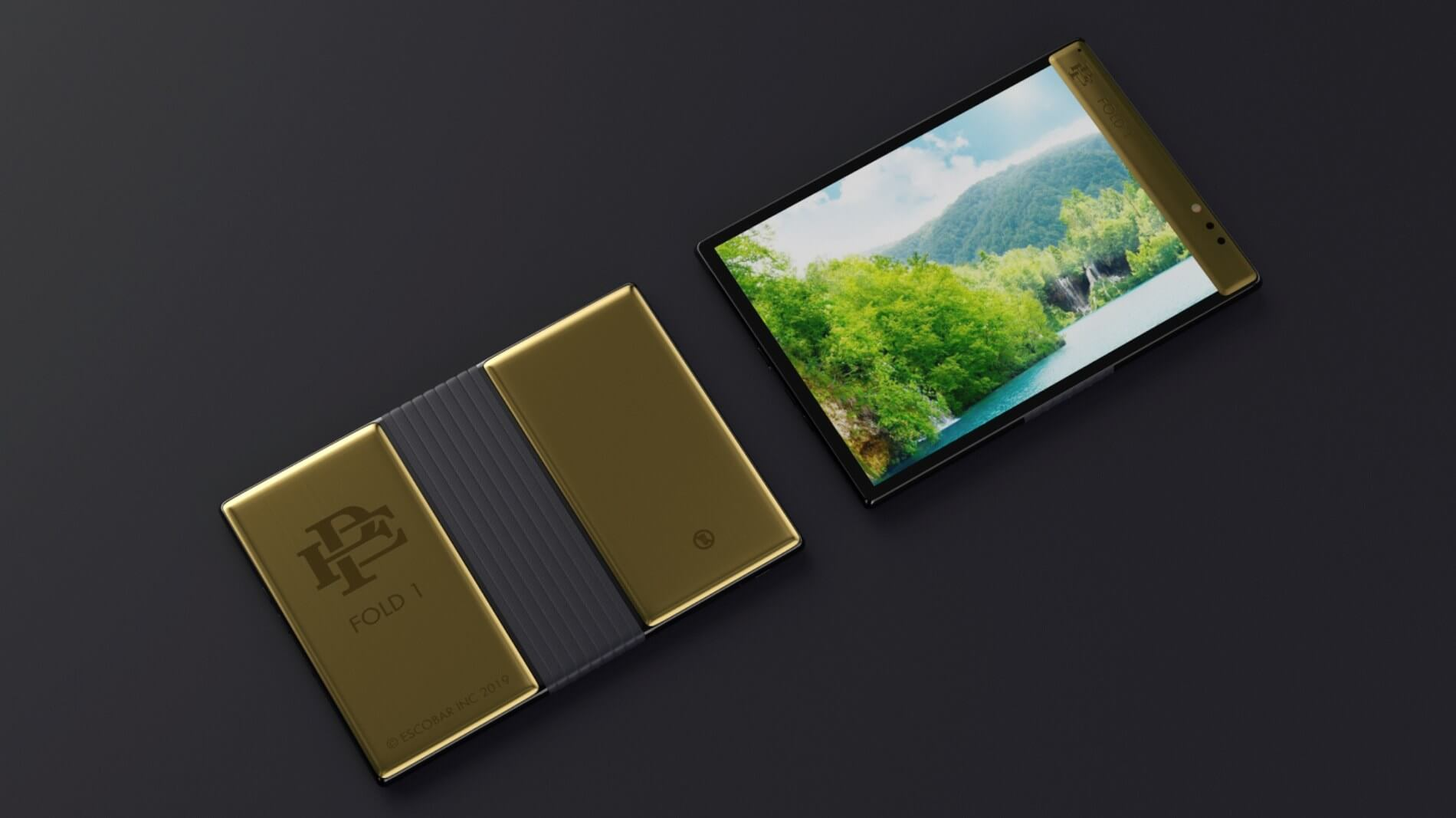 Pablo Escobar's Brother Just Launched A Folding Phone To