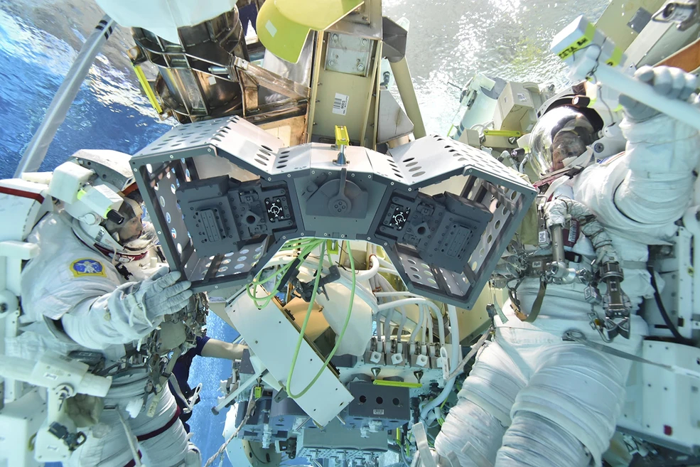 NASA to launch a 'robot hotel' on the International Space Station