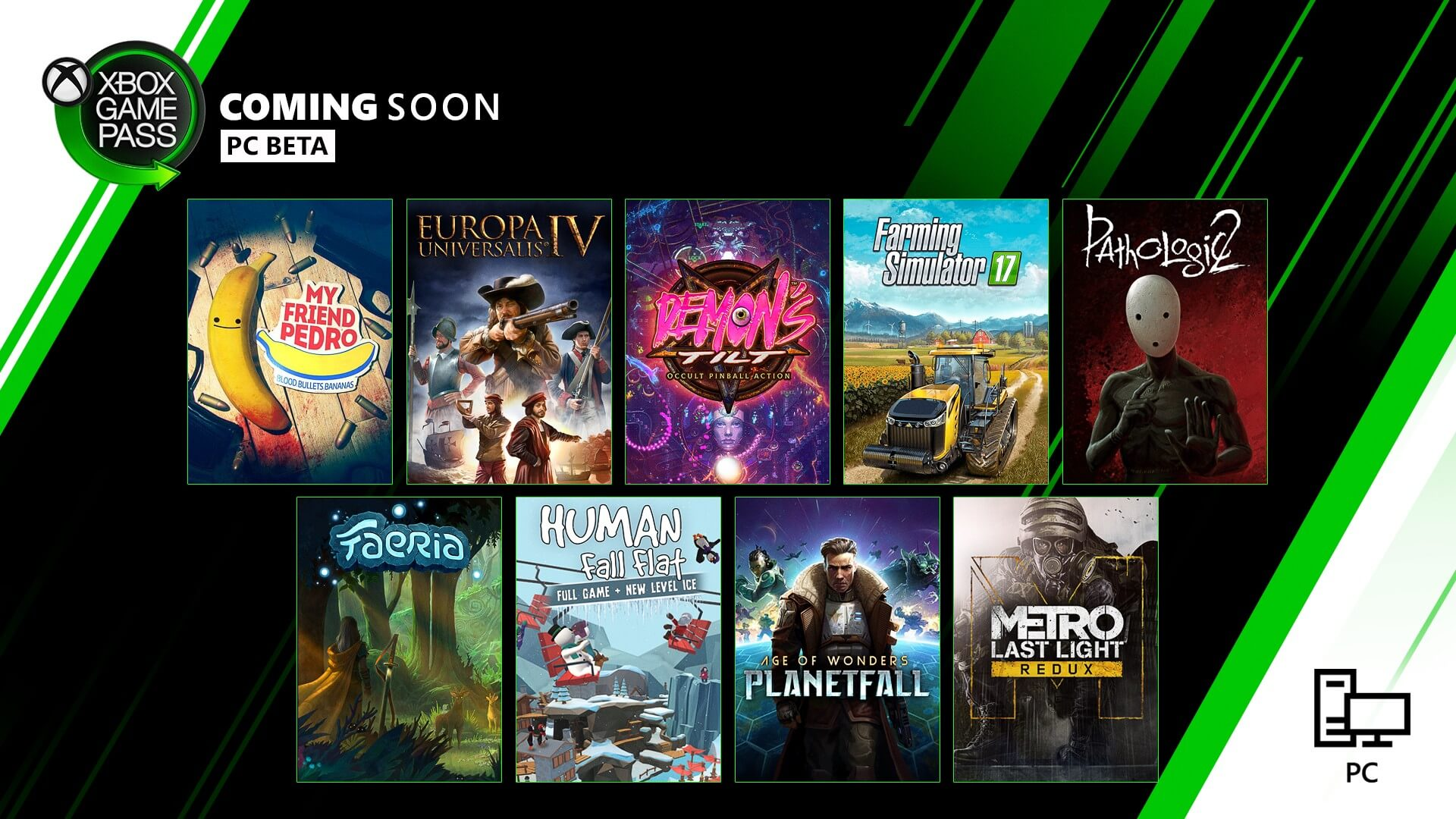 Farming Simulator 17, My Friend Pedro among 9 games coming soon to Xbox Game Pass for PC