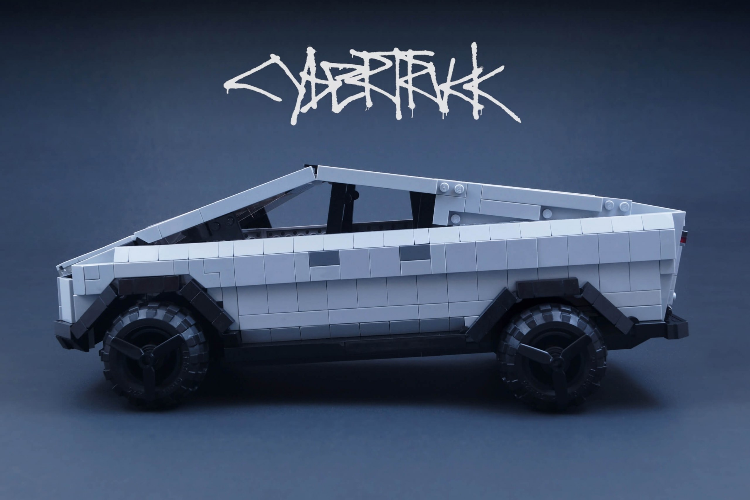 Fan-made Lego Cybertruck may become real kit if it gets enough support